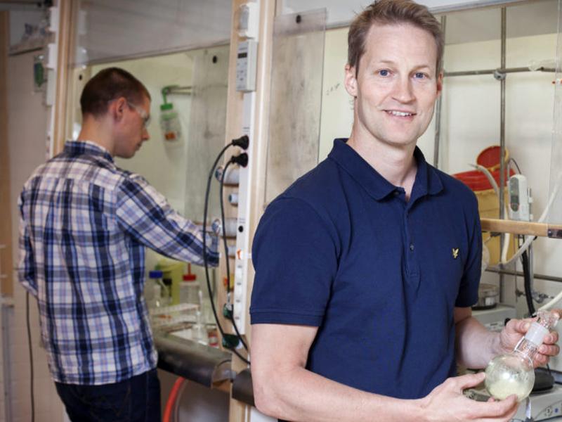 Fredrik Almqvist, vd på QureTech Bio